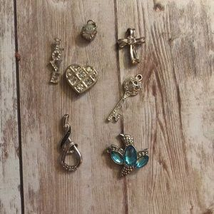 Various necklace charms